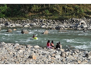 River Side at Sukute Beach Nepal