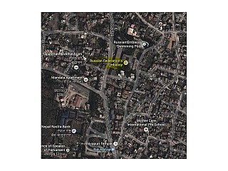 Russian Embassy near by Baluwatar