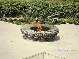Shanti Deep: The eternal flame @ Lumbini