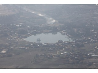 Taudaha seen from Plane
