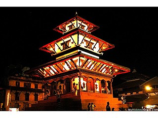 Temple@Basantapur during a gorgeous night...
