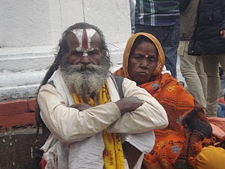 The Sadhu Couple