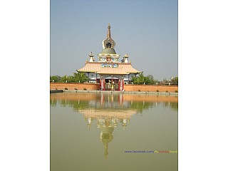 The Temple with the depiction of  life-story of Buddha
