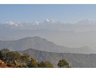 This is suppose to be Langtang Himalayan Range