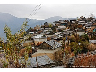 Typical houses of Siurung Village