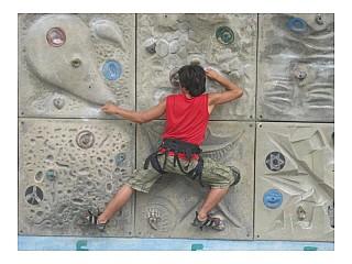 Wall Climbing in Nepal