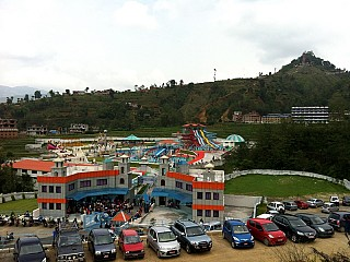 Weekend Crowd at Kathmandu Fun Valley