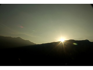 sun rise from ghandruk