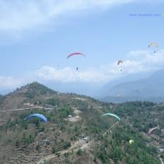 Paragliding from Sarangkot Pokhara