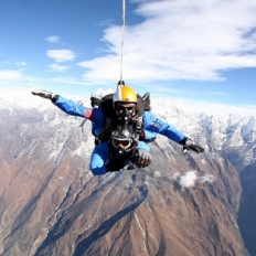 Single skydive at Nepal