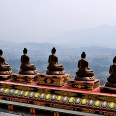 White Gumba Gate Nepal