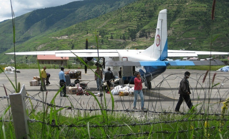The Cargo at jumla Airpot