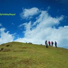 Trekking Around Barpak