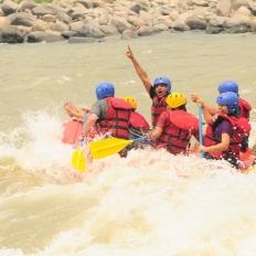 More fun at Trishuli River