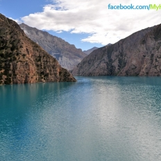 Closer view of Phoksundo Lake