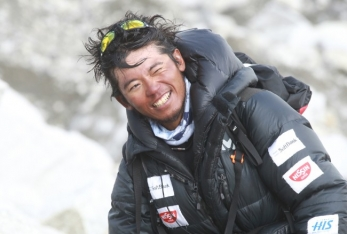 Nobukazu Kuriki will be the first and only climber attempting to summit Everest this season