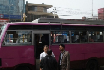 Tourist Bus with WIFI now in Nepal