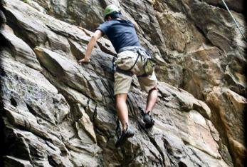 Rock Climbing In Nepal