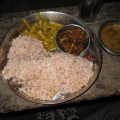 The local cuisine: Jumla Rice, once used to be in the Royal Menu