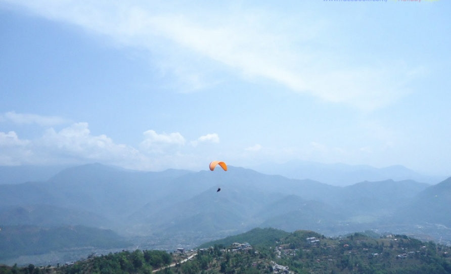 Glimpse of Paragliding in Pokhara