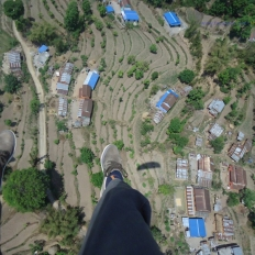 Up in the air Nepal