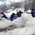 Team Work at sky dive in nepal