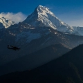 Flight between Jomsom to Pokhara