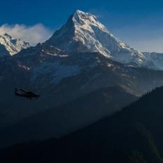 Flight between Jomsom to Pokhara