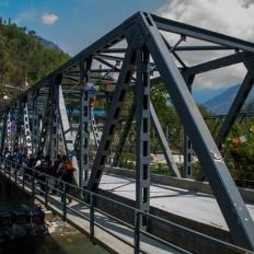 Trek starts from Nayapul