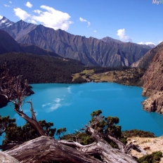 Way to phoksundo lake