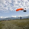 Sky dive in Pokhara Nepal