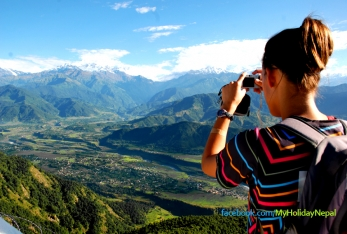 Tourists increases by 17 percent to Annapurna trekking route