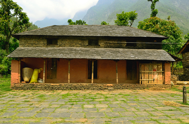 Another Nepali House My Holiday Nepal